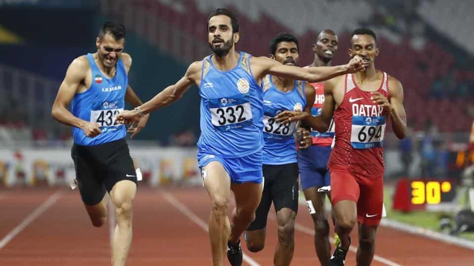Manjit Singh wins gold in 800m, Jinson Johnson gets silver