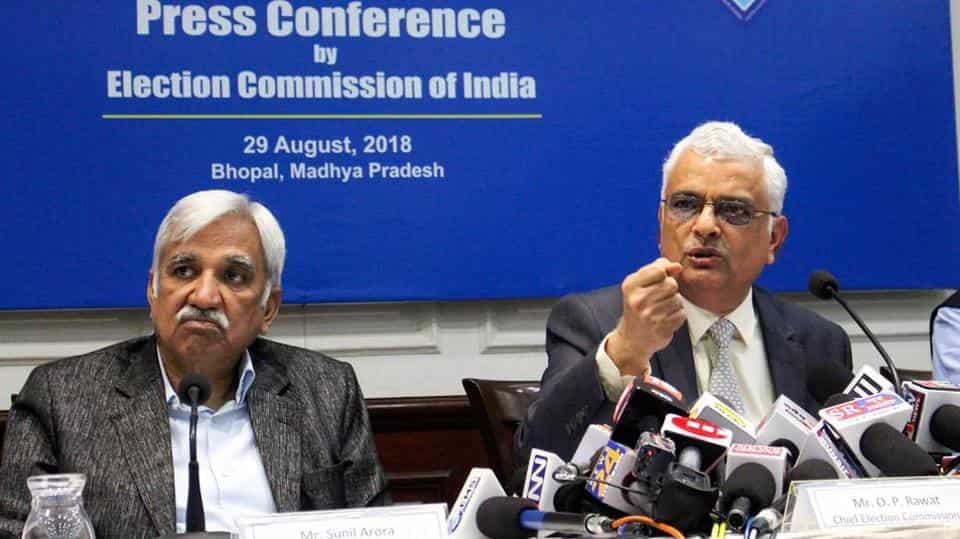 Sunil Arora appointed Chief Election Commissioner, to take over from OP Rawat on Dec 2