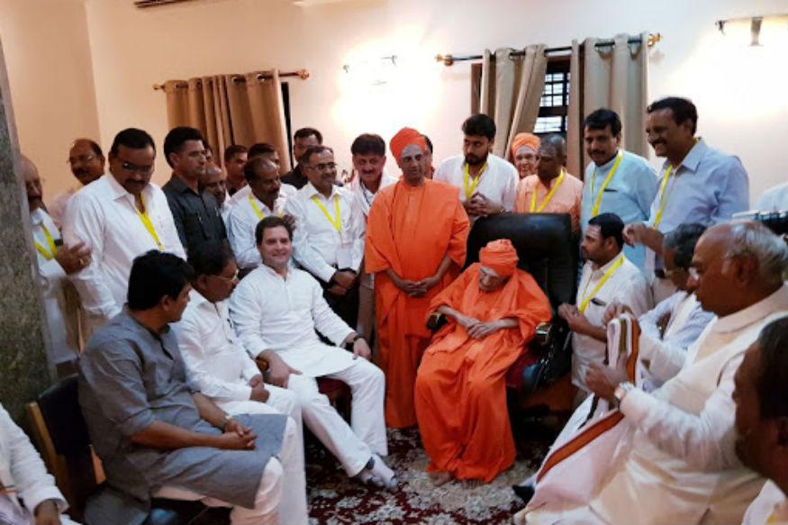 111 Year Old Shivkumar Swamiji on Ventilator, Siddaganga Mutt Floods with Devotees